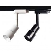 5W zoomable led track light spotlight with adjustable beam angle for art gallery museum lighting