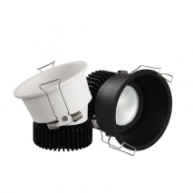 Recessed Adjustable Titled Spotlight 12W Ceiling downlight for Hotel