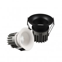 Recessed Fixed Flat Spotlight 12W Ceiling downlight for Hotel