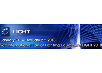 International Fair of Lighting Equipment LIGHT 2018